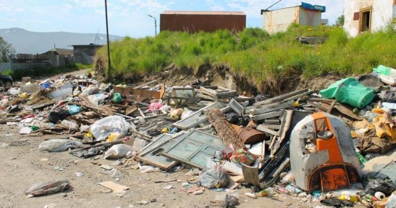 За минувшую неделю из разных мест Магадана было вывезено более 812 кубических метров мусора
