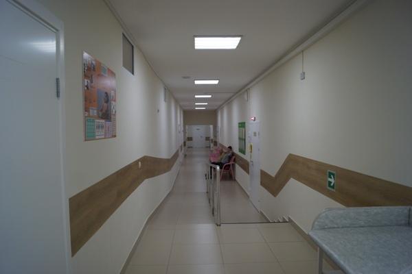 Обновленная детская больница уже начала принимать пациентов