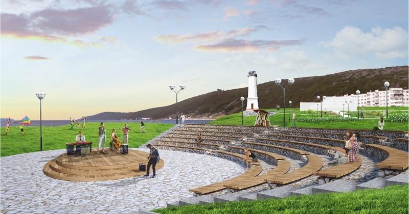 """Основное строительство парка """"Маяк"""" в Магадане планируется завершить к ноябрю 2019 года"""