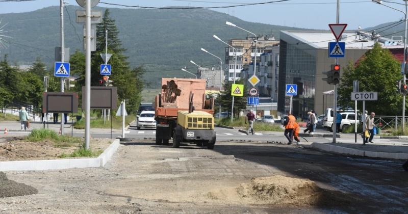 Сегодня в Магадане до 18:00 в виду ремонтных дорог перекрыто движение на 6 улицах города