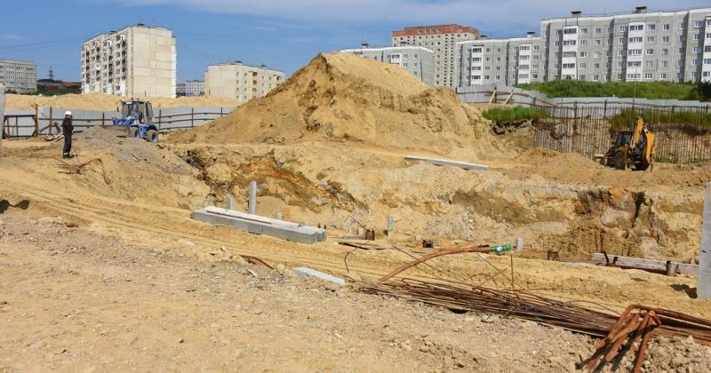 Свайное поле под новый бассейн в Магадане прошло испытания