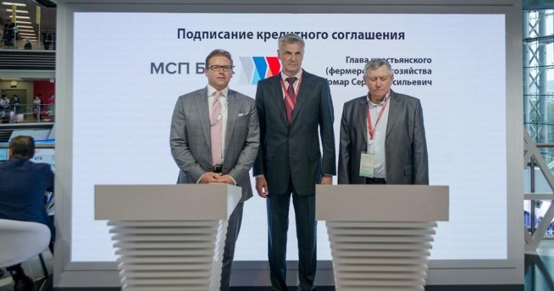 Кредит на 30 миллионов рублей по сниженной процентной ставке получил магаданский фермер Сергей Комар
