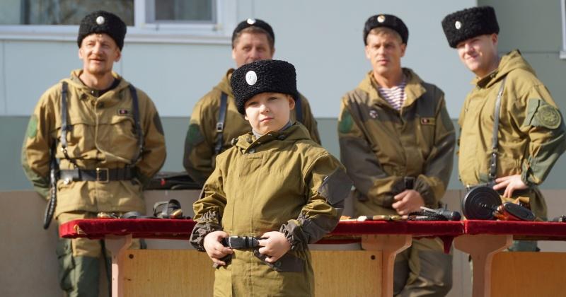 Военно-спортивная игра «Казачий сполох» прошла в детском лагере «Северный Артек»