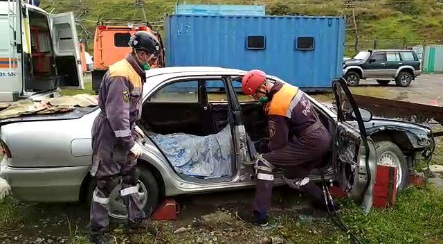Магаданские спасатели прошли проверку на профпригодность