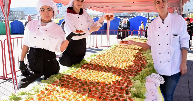 Традиционно итоговая осенняя ярмарка проходит в Магадане каждый год в середине сентября