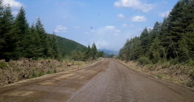 В Магаданской области продолжаются работы на федеральной и региональных трассах