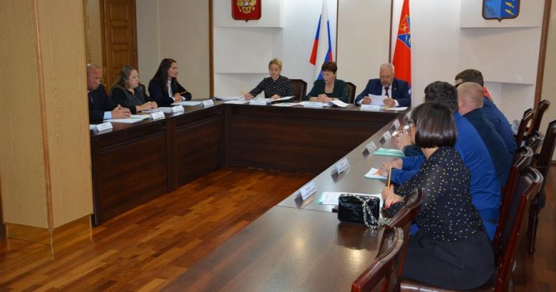 Андрей Зыков принял участие в заседании областной комиссии по помилованию
