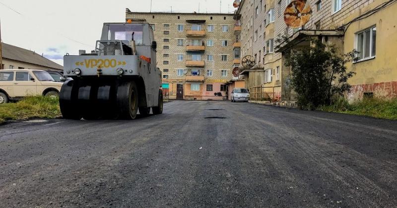 В Ольском округе завершается ремонт дорог в рамках нацпроекта