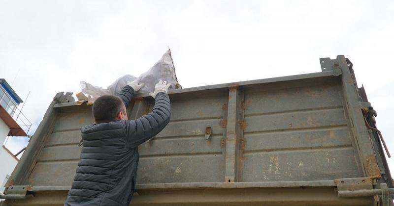 В частном секторе Магадана начинают собирать мусор без контейнеров