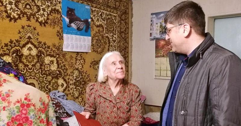Старожил Колымы Вера Шабалина отметила 90-летний юбилей