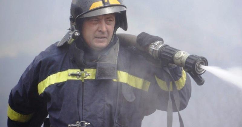 Магаданские пожарные ликвидировали загорание в подсобном помещении