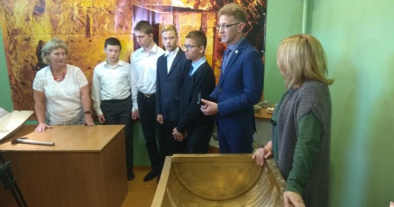В Магаданском областном центре образования №1 открылся кабинет профобучения по специальности «промывальщик геологических проб»