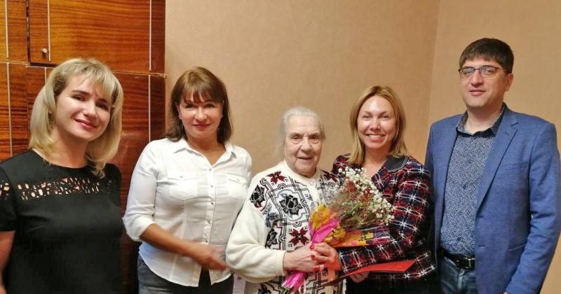 Ветеран труда, старожил Магаданской области Софья Кононенко отпраздновала юбилей. Ей исполнилось 95 лет