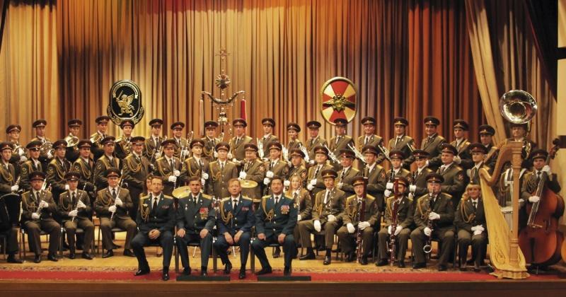 Образцово-показательный оркестр войск национальной гвардии РФ даст бесплатный концерт в Магадане