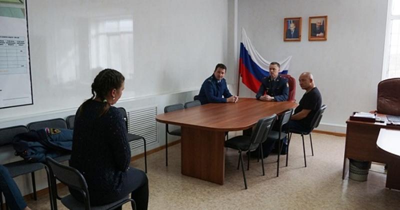 Председатель общественного совета при УФСИН с рабочим визитом посетил колонию-поселение
