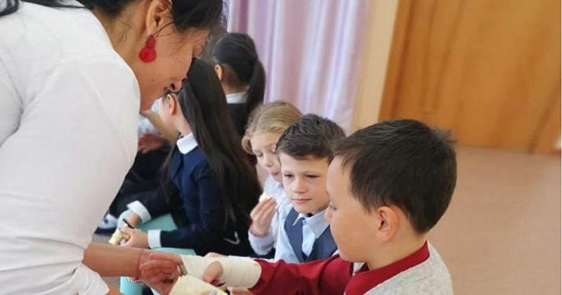 В селе Гадля Ольского округа прошла акция «Добро в село»