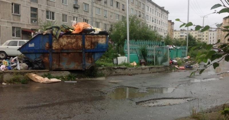 Прокуратура заставит мэра Магадана расчистить помойку на Набережной р.Магаданки 15