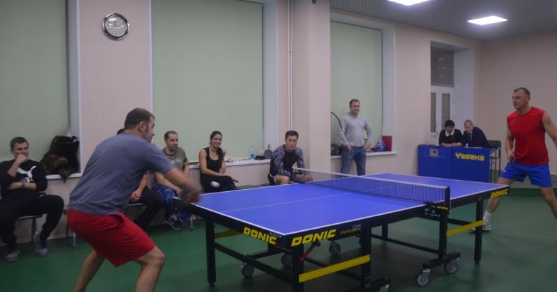 Полицейские Магадана победили в соревнованиях по настольному теннису