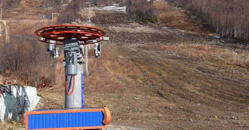 Первые тренировки спортсменов на склонах Русской горнолыжной школы-Магадан стартуют в ноябре