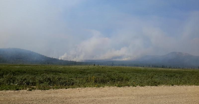 Всего с начала пожароопасного периода на Колыме зарегистрировано 119 природных пожаров