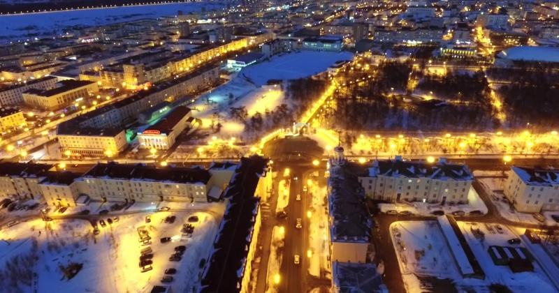Это наш красивый Магадан - улица Портовая