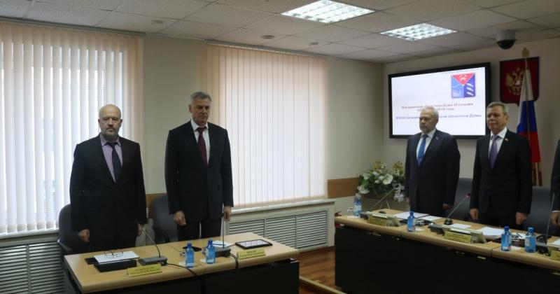 Сергей Носов: Мы сделали хороший задел по выполнению майского указа и нацпроектов