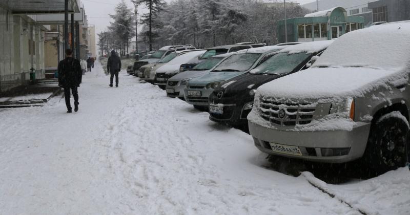 Сильный снег с дождем ожидается  ночью 27 октября в Магадане