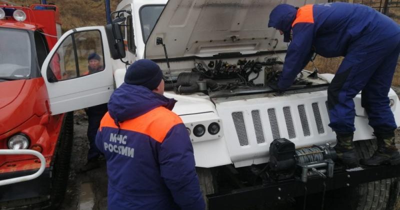 Спасатели Магадана готовы к эксплуатации техники в осенне-зимний период