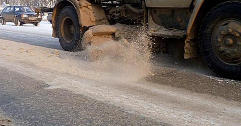 Песок и соль для дорог Магадана заготовлены в полном объеме