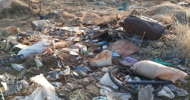 Нарушения складирования мусора приводили к самовозгоранию отходов на полигоне ТБО на Колыме