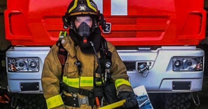 Лучшим пожарным в Магадане  стал мастер-пожарный сержант внутренней службы Александр Орловский