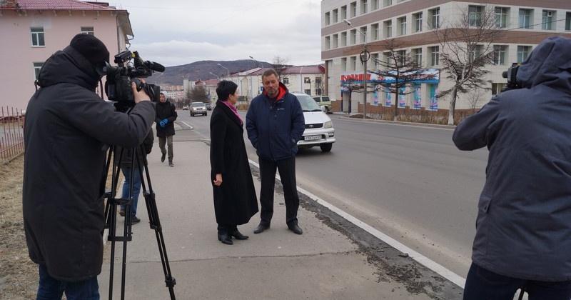 Оксана Бондарь: Люди будут знать о том, какие объекты строятся или уже построены в Магадане
