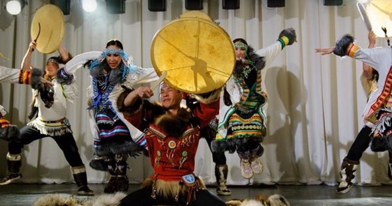 Ансамбль песни и танца народов Севера «Энэр» выступит в Магадане с новой программой