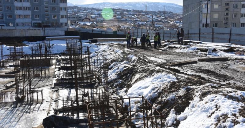 Открыть крытый бассейн на Октябрьской в Магадане  планируется в следующем году