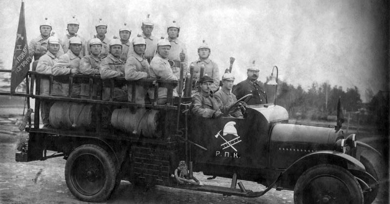 Отделения пожарной охраны при отделе НКВД появилось 85 лет назад в Магадане