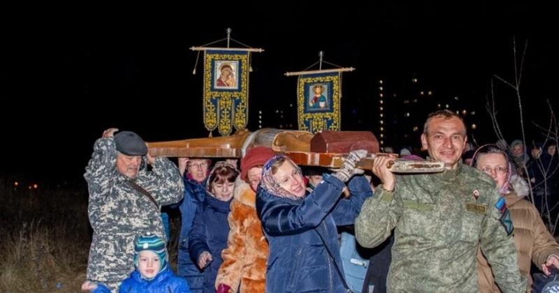 Паломники крестного хода «Святая Русь»  из Магадана добрались до Подольска