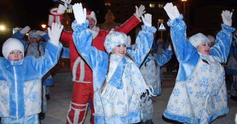 Первые елки Магадана включат 6 декабря