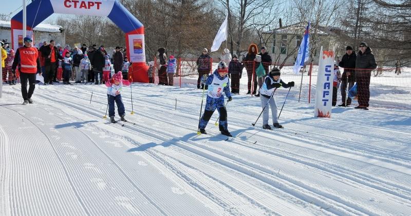 Свое отделение открыла в п.Снежный Магадана школа олимпийского резерва по лыжным гонкам имени Елены Вяльбе