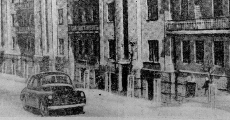 О центральной улице Сталина в Магадане рассказала газета «Советская Колыма» 70 лет назад