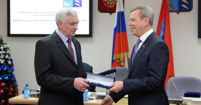Колымские парламентарии отметили земляков и предприятия, которые внесли особый вклад в развитие территории