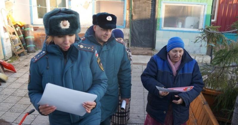 Неисправность печей и дымоходов в частных домах Магадана - основная причина пожаров
