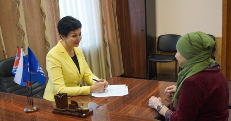 Оксана Бондарь провела прием граждан и ряд встреч в  Магадане и регионе