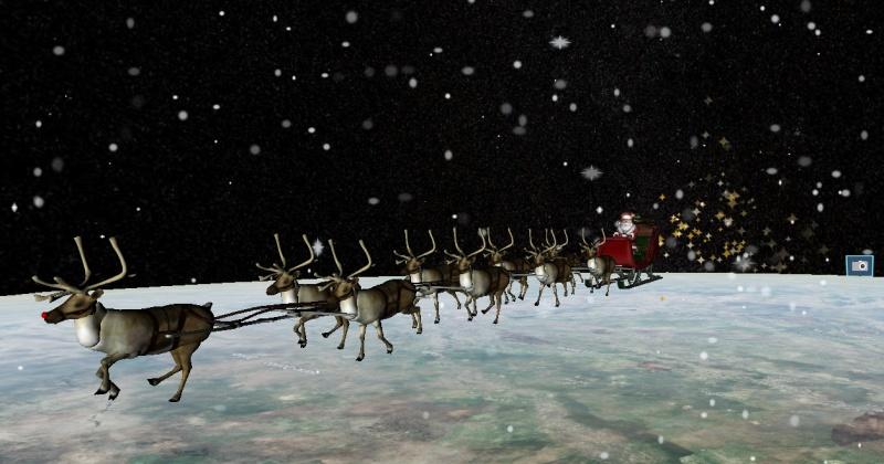 Санта-Клаус уже посетил Магадан сегодня ночью