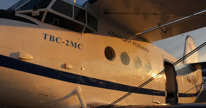 В аэропорту Магадан им. В. С. Высоцкого произвел посадку второй ТВС-2МС