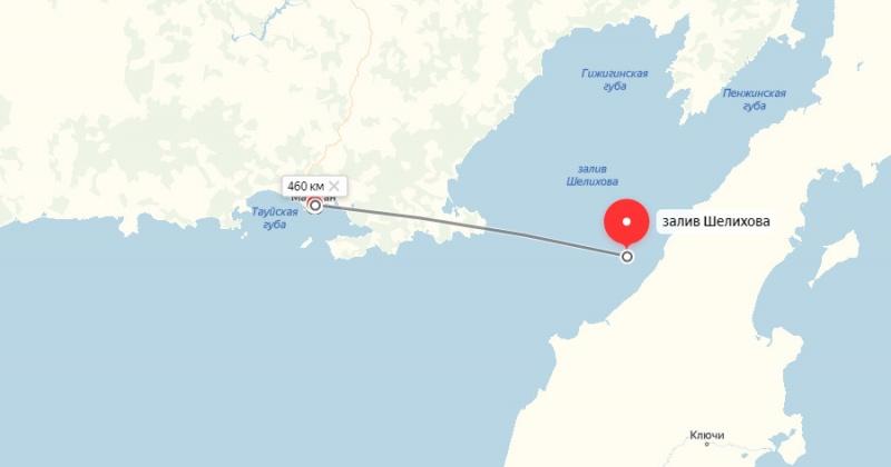 Землетрясение силой 5.4 балла произошло недалеко от Магадана