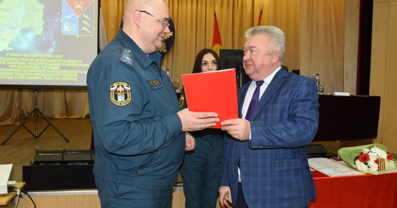 Диплом лучшего органа местного самоуправления муниципального образования на Колыме получил Магадан в День спасателя