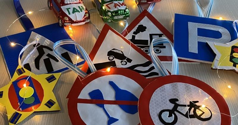 В Магадане открыта Ёлка дорожной безопасности