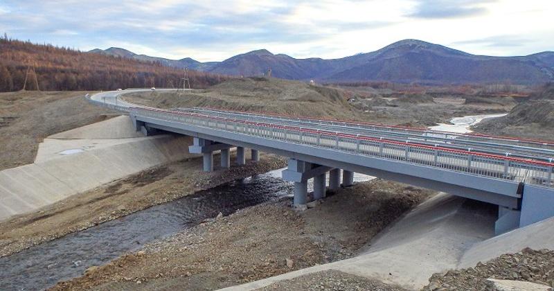 В Якутии и Магаданской области завершена реконструкция четырех мостов на трассе Р-504 «Колыма»