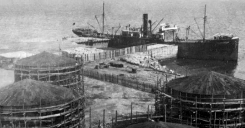 Морской порт начали строить в Магадане 87 лет назад