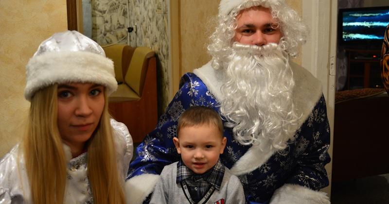 Полицейский Дед Мороз продолжает новогоднее шествие по Колыме